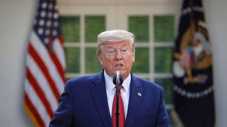 """Trump: """"Si EE.UU. logra contener el número de fallecidos por el covid-19 en 200.000, será un muy buen trabajo"""""""