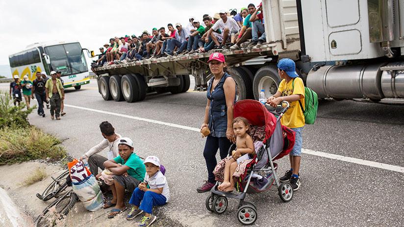 Adultos y menores hondureños de la caravana demandan a Trump y otros organismos de EE.UU.