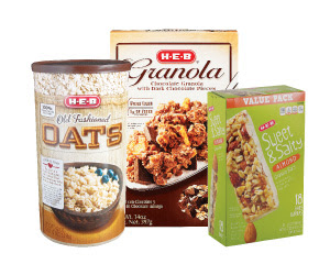 $2 off $6 purchase of oatmeal, breakfast bars and granola