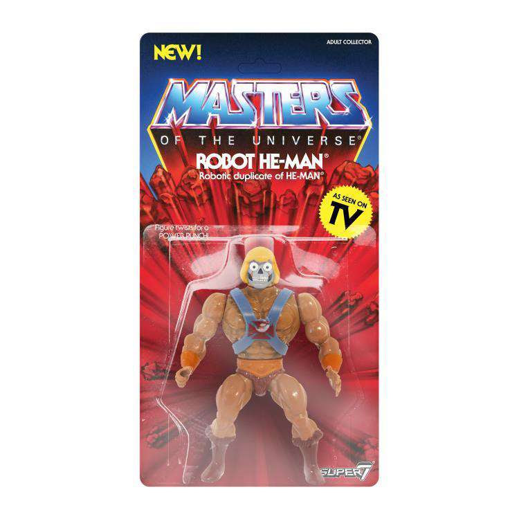 Image of Masters of the Universe Vintage Wave 2 - Robot He-Man - SEPTEMBER 2019