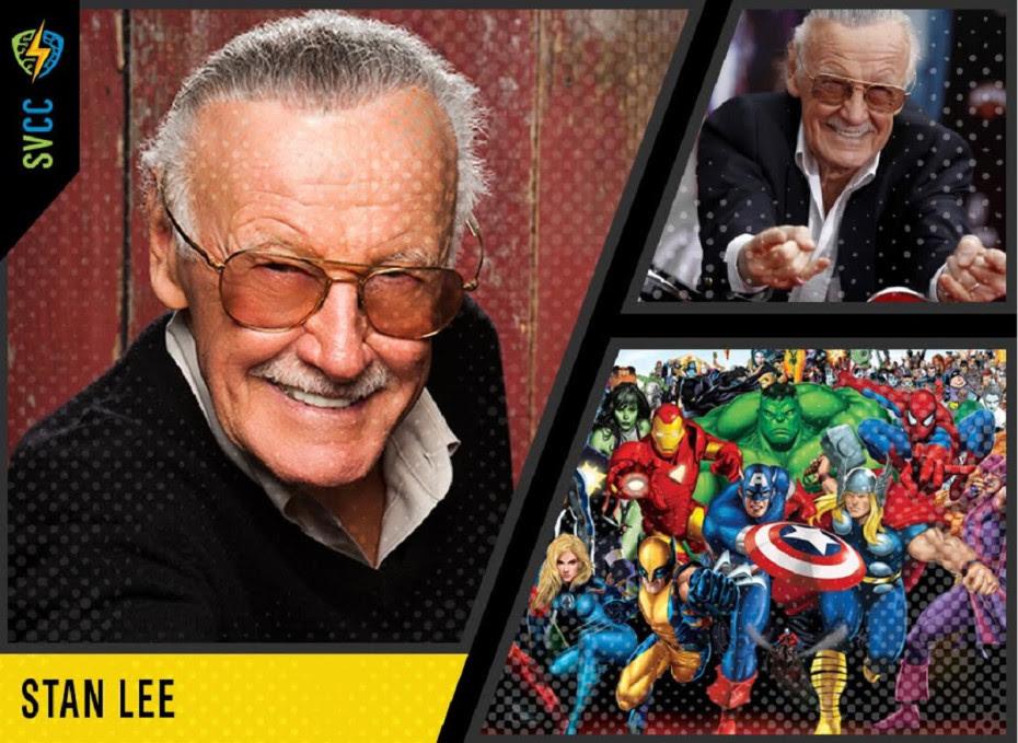 Stan Lee - creator of Iron Man, Spider-Man, Thor and more!