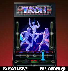 Tron Electronic Arcade Style PX Previews Exclusive Box Set