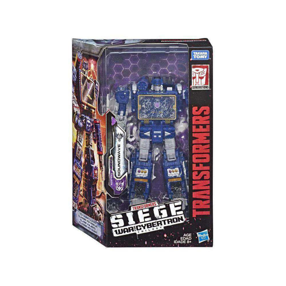 Image of Transformers War for Cybertron: Siege Voyager Wave 2 - Soundwave - FEBRUARY 2019