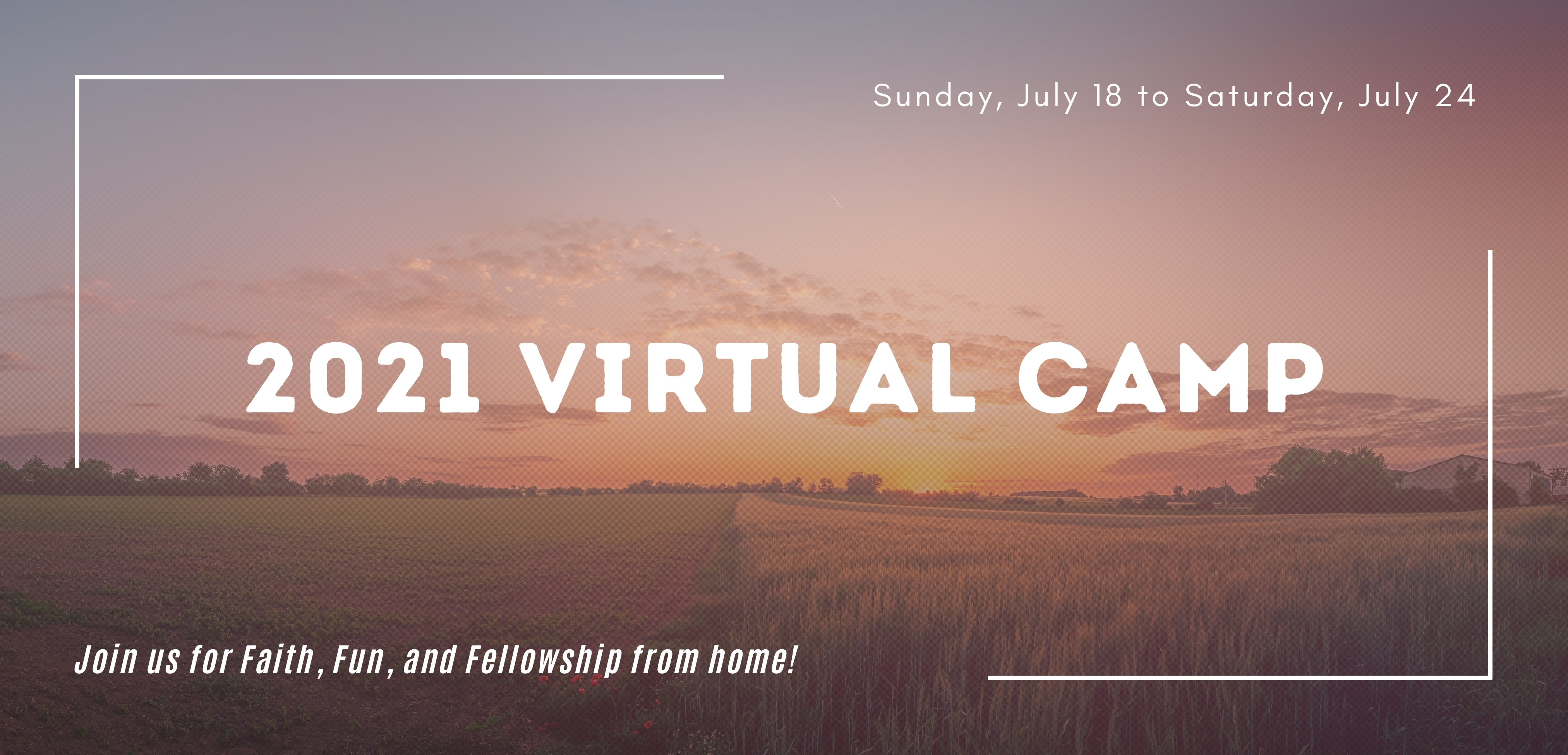 Virtual Camp banner