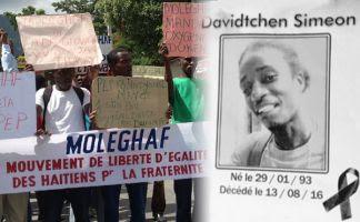 Un grupo de hombres armados asesinó cobardemente a Davidtchen Simeón, joven militante de 23 años de la organización popular progresista MOLEGHAF