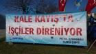 Рабочие в Турции организовали акцию, требуя признать профсоюз