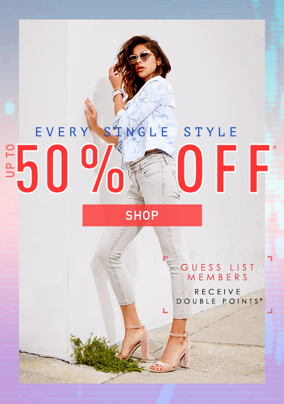 Up to 50% Off Shop