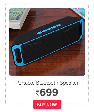 Sonilex BS - 113 FM Portable Bluetooth Speaker - Multi Color