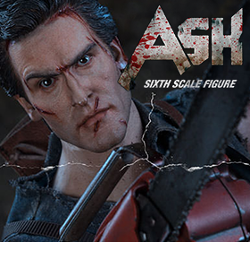 1/6 SCALE EVIL DEAD II ASH WILLIAMS
