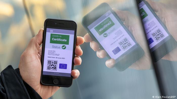 El Certificado Digital COVID de la UE entrará en vigor a partir del 1 de julio.