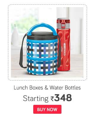 Milton Lunch boxes & Watter bottles