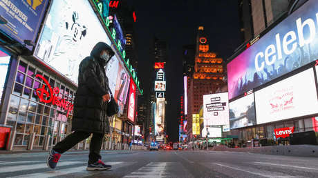 EE.UU.: Aumentan a 16.366 los infectados por coronavirus y la cifra de muertos se eleva a 215