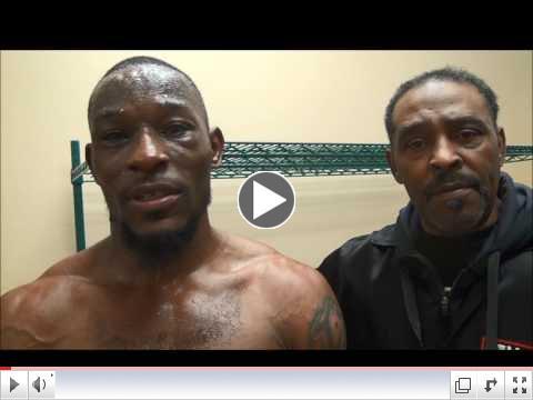 Tyrone Brunson Post Fight Interview
