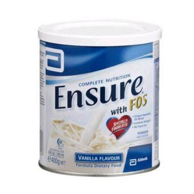 Ensure Fos Vanilla Susu Pertumbuhan Anak [400 g]