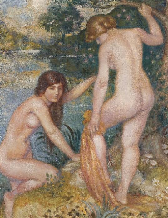 Купание (Le Bain). 1915-1916 (538x700, 458Kb)