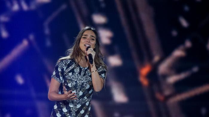 """VIDEO. Eurovision 2017 : revivez la prestation d'Alma, la candidate française arrivée douzième avec """"Requiem"""""""