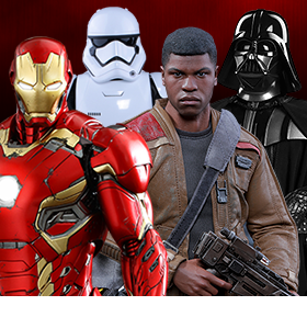 HOT TOYS & SIDESHOW FIGURES