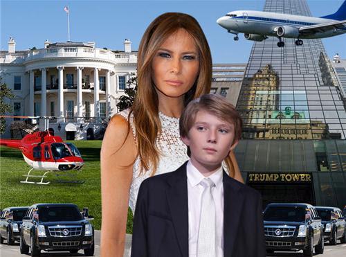 Cháy Tháp Trump