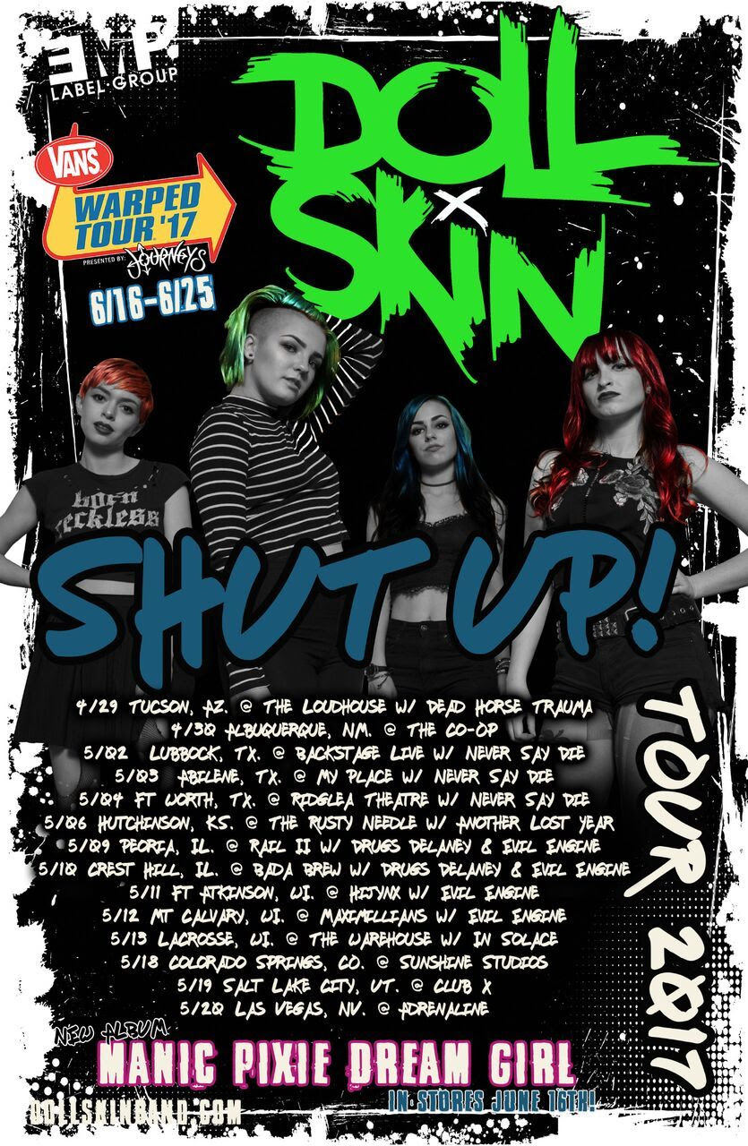 doll skin may tour