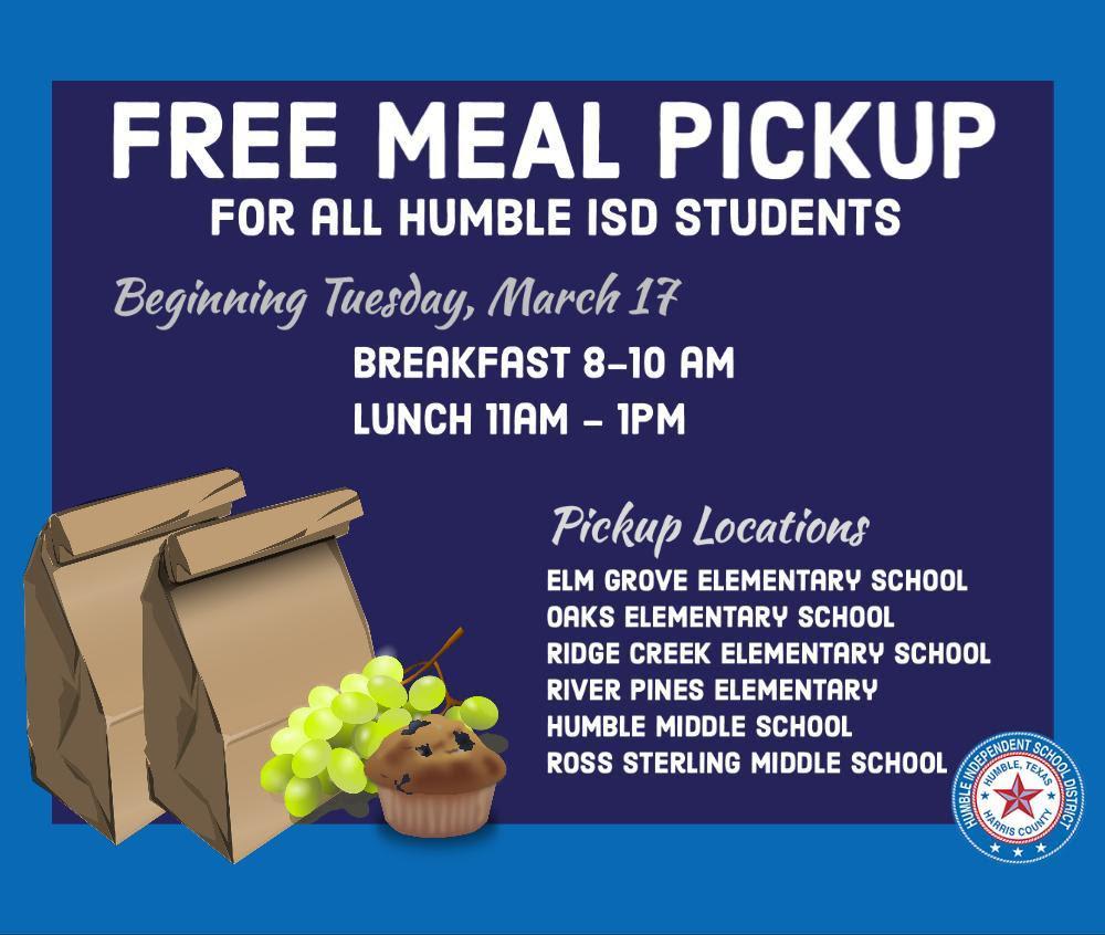 Free Meal Pickup