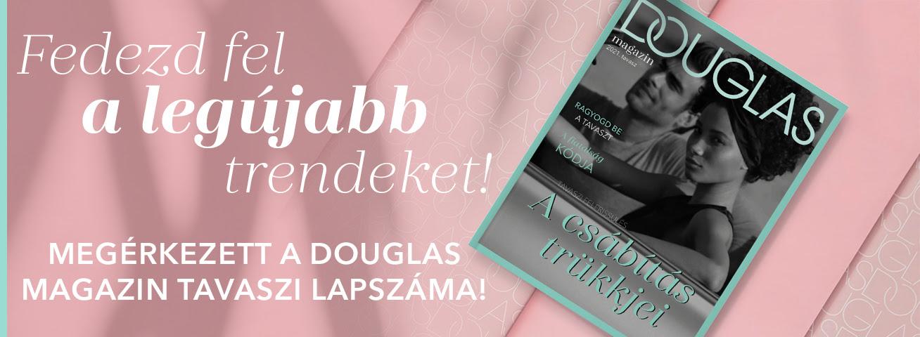 Megérkezett a Douglas eMagazin tavaszi lapszáma!