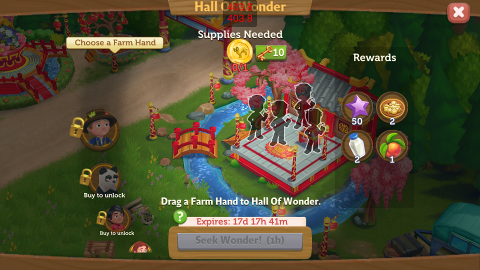 The Chinese New Year is here! - FarmVille 2