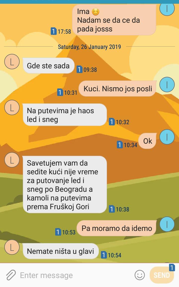 Trčanje u doba crvenog meteoalarma: svi na planinu!