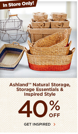 40% off. Get inspired