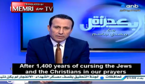 "Iraqi TV host: ""After 1,400 years of cursing the Jews and the Christians, Muslims are the ones left with no unity"""