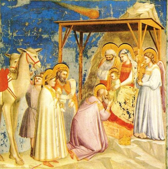 """""""La Adoración de los Reyes"""", de Giotto"""