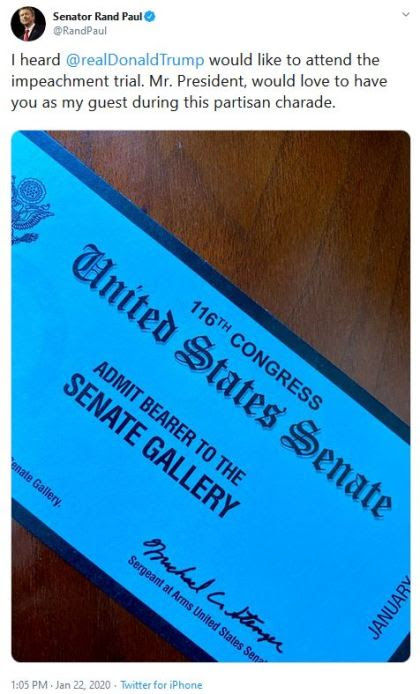 rand paul tickets gallery