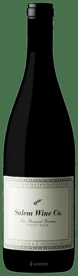 R. Parr & S. Moorman Salem Wine Co. Pinot Noir | Wine Info