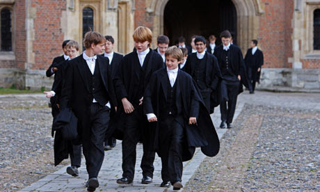 Học sinh trường Eton.