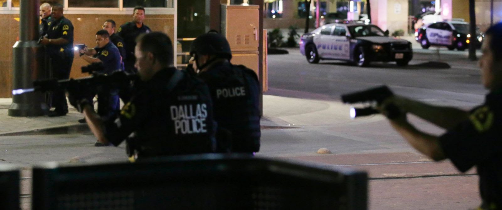 11 Officers Shot, 5 Fatally, by Snipers Amid Dallas Protest; Standoff Ends (Video)