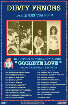 Nyc S Dirty Fences Rolls Out Us Tour In Support Of