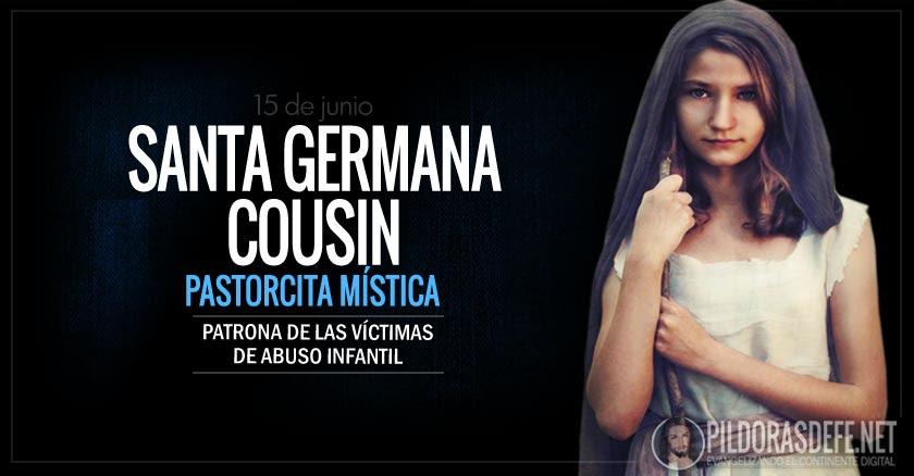 santa germana cousin pastorcita mistica patrona de las victimas de abuso infantil