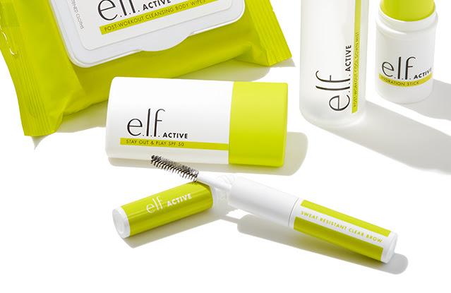 Introducing e.l.f. ACTIVE...
