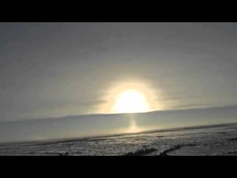 Light PILLAR SUN AND EARTH! CANADA 2016-02-16  Hqdefault