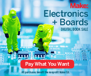 Make: Electronics +Boards Digital Book Sale