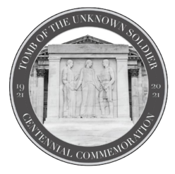 Tomb of the Unknown Centennial logo