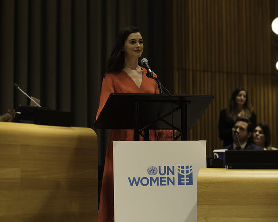 Anne Hathaway, UN Women's Global Goodwill Ambassador