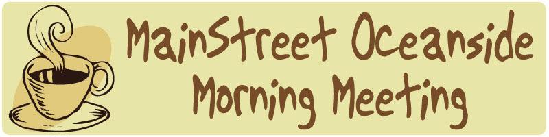 Morning Meeting Banner