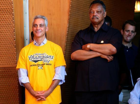 Mayor Rahm Emanuel and Rev Jackson 9220-b4c2-11e4-81e7-655915430d2e Rahm1