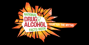 Logo of the National Drug & Alcohol Facts Week. Link takes you to NIDA's Drugs and Alcohol Chat registration page.
