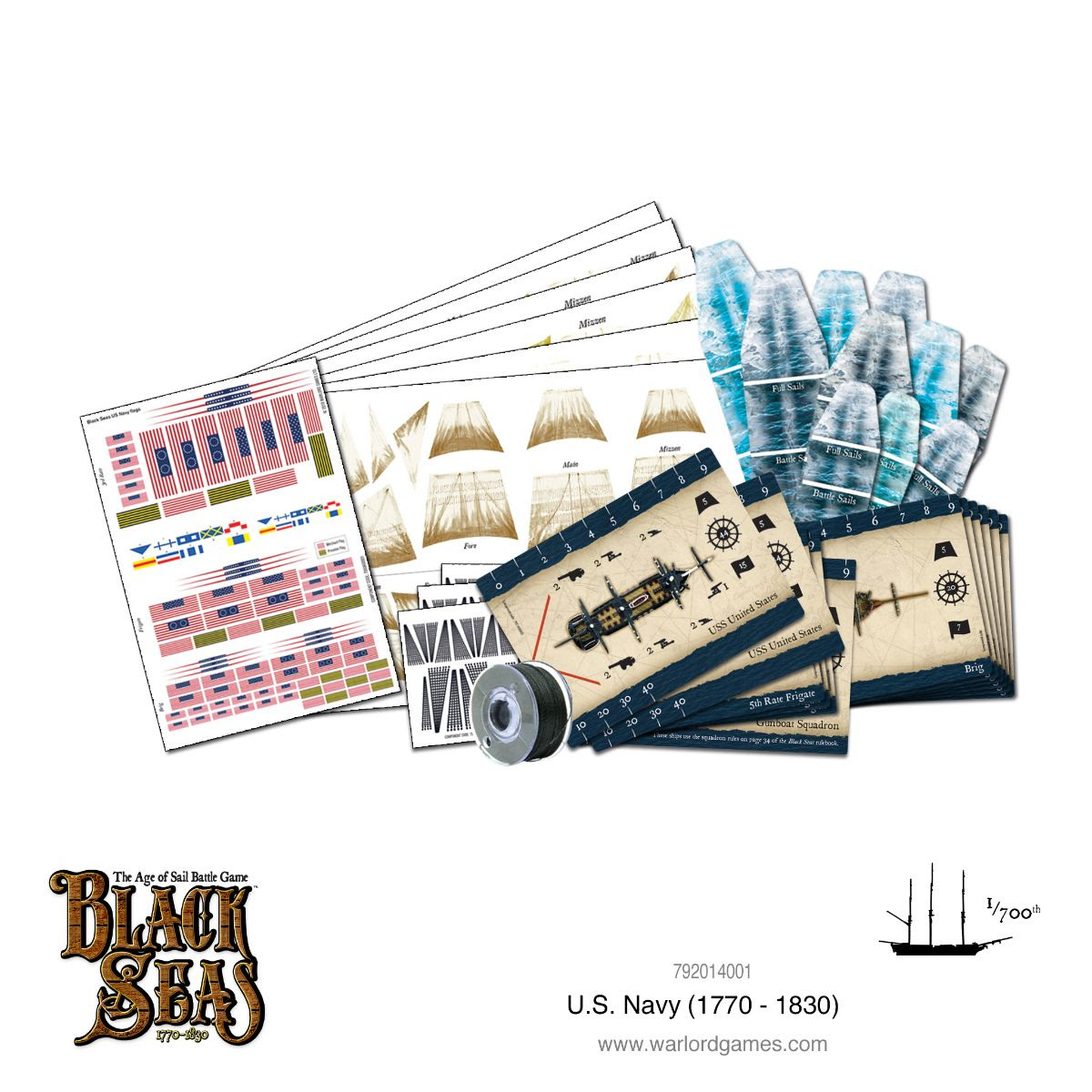U.S. Navy Fleet (1770 - 1830)