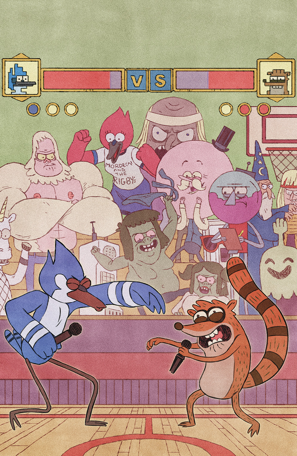 REGULAR SHOW #14 Cover C by Jake Wyatt