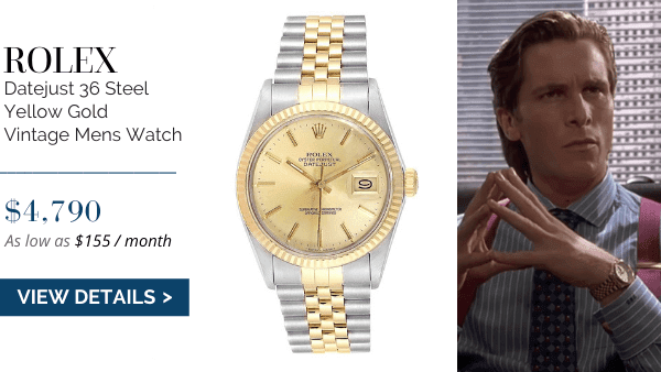 Datejust 36 Steel Yellow Gold