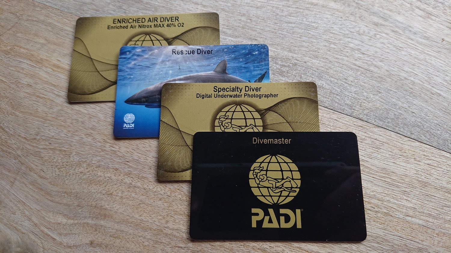 There are many specialties in the Diving World.