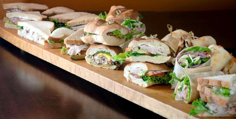 Assorted banquet sandwich platter image