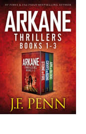 ARKANE Thrillers: Books 1–3 by J.F. Penn